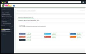 PerkZilla Feature: Social NetworksSharing ~ Read our Full PerkZilla Viral Rewards Platform Review ~ CountGenius.com
